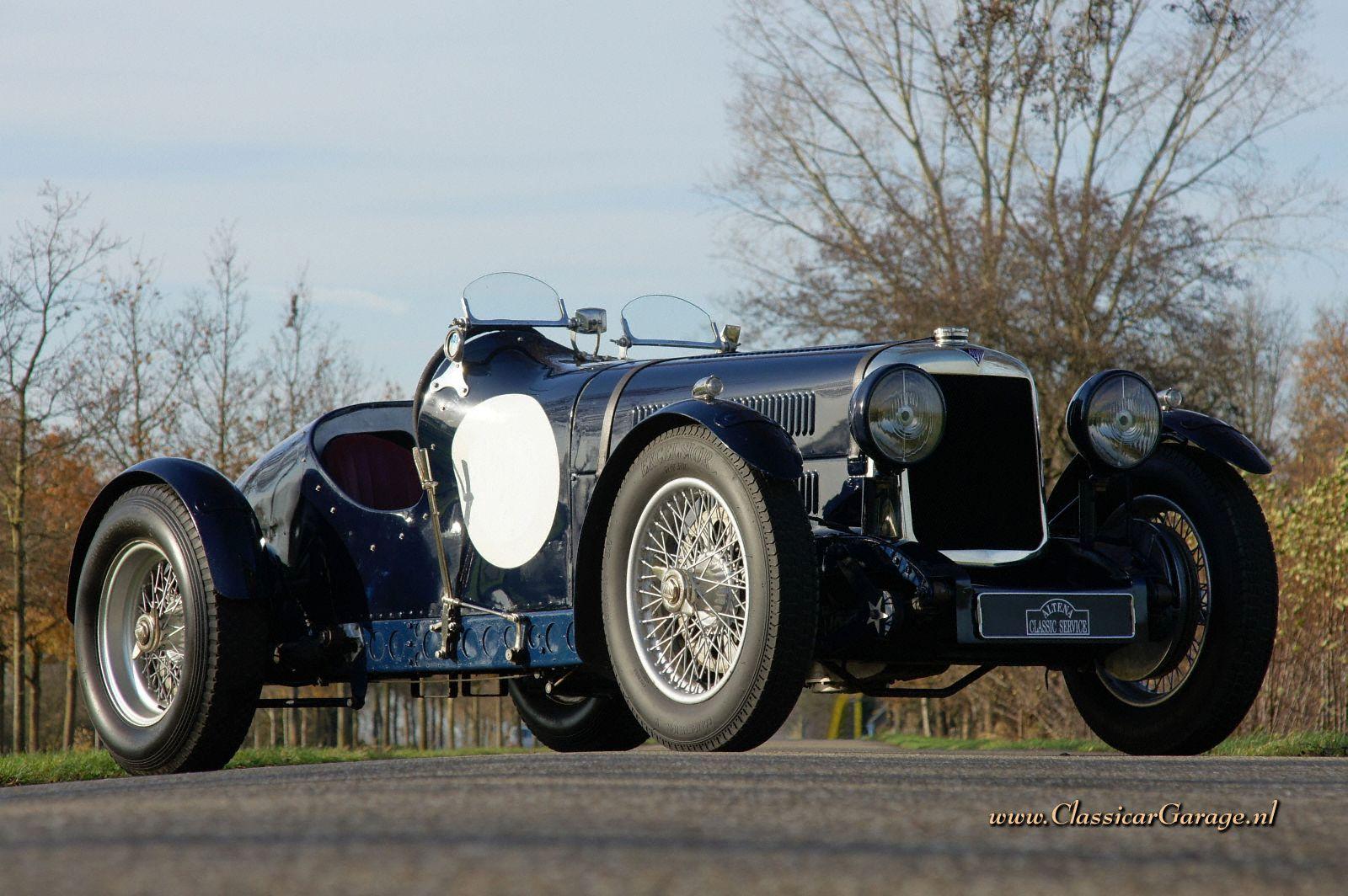 Car Garages Alvis Silver Eagle Special 1935 Details