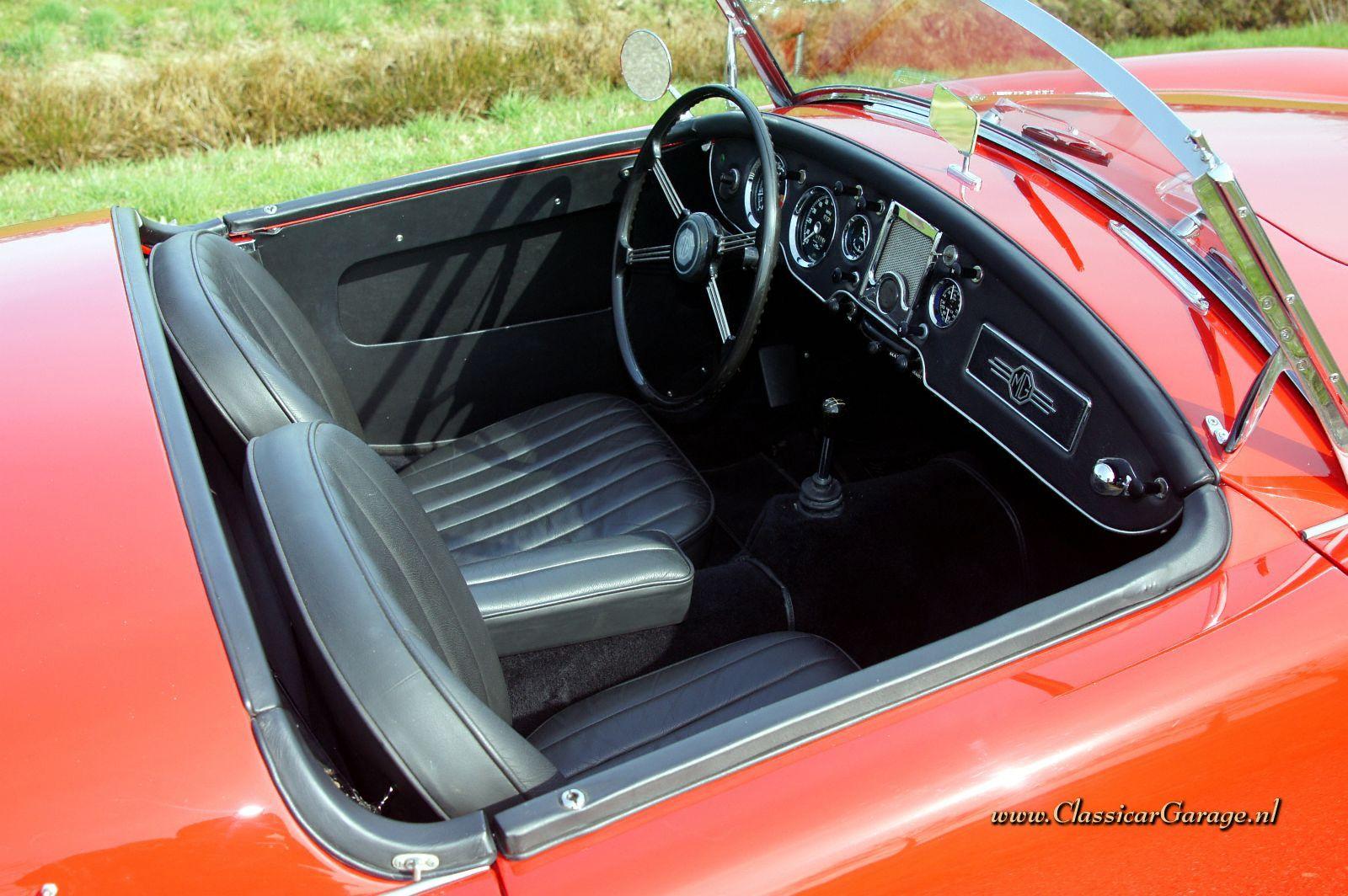 Mg Mga 1600 Mk Ii De Luxe Roadster 1962 Details