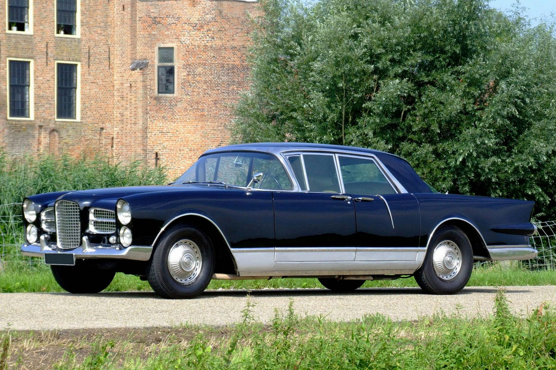 Car Garages Facel Vega Excellence 1960 Details