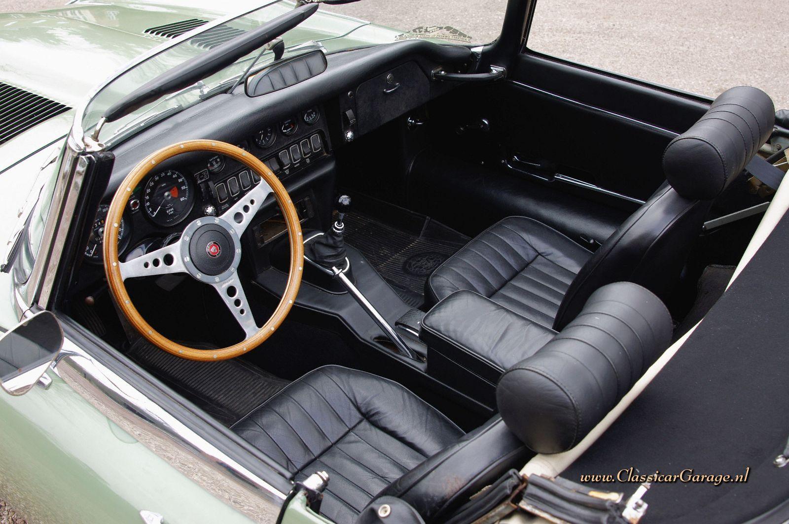 Jaguar E Type >> Jaguar e-type 4.2 Litre OTS serie 2, 1969