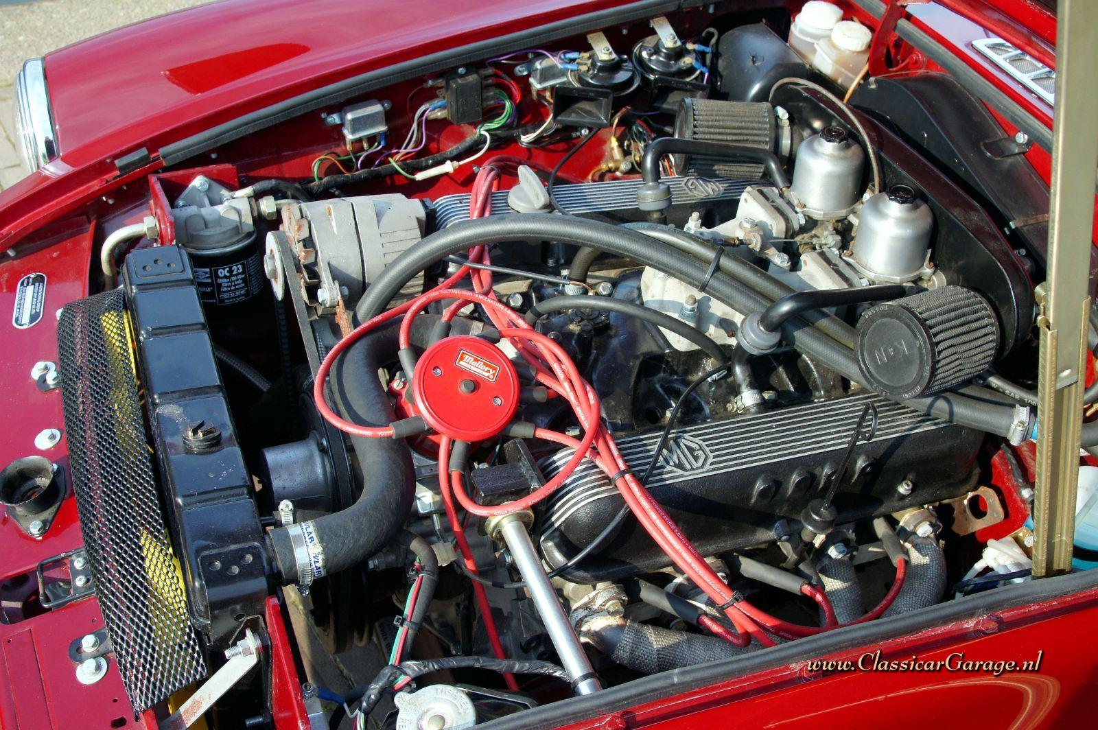 MGB GT V8 Engine