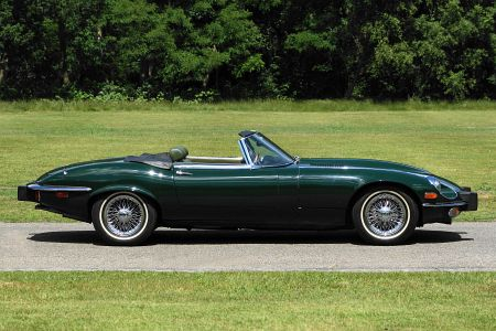 Jaguar E Type >> Jaguar E-type V12 convertible, 1974