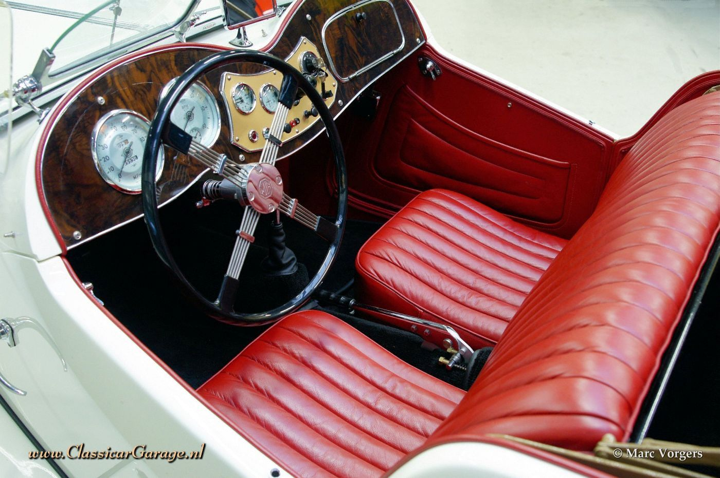 Mg td 1952 details for Interior pics