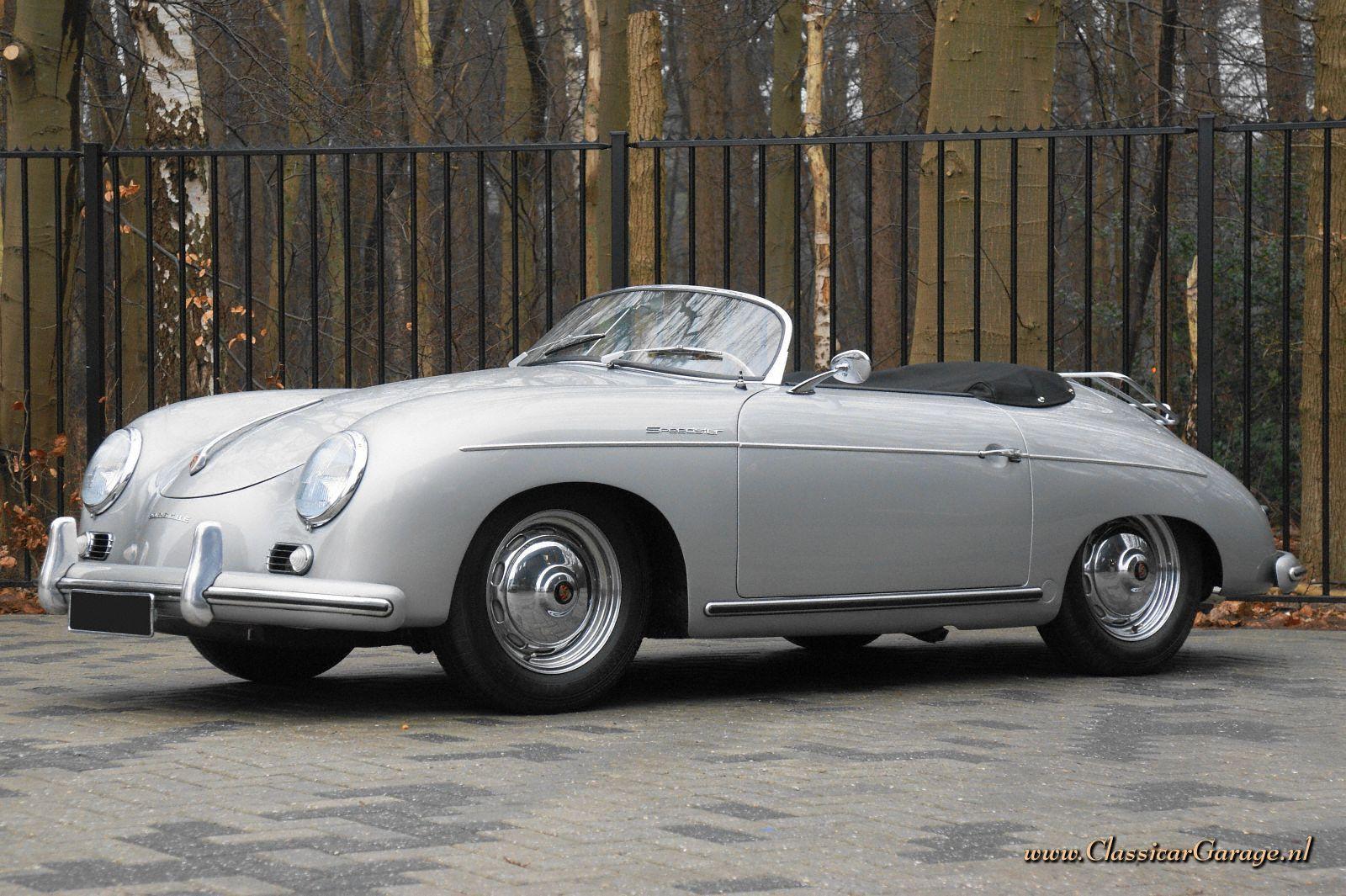 Porsche 356 Pre A Speedster 1955 Details