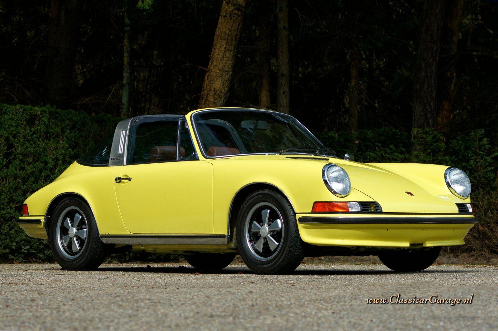 Porsche 911 2 4t Targa 1973 Details